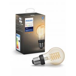 Philips Hue LED Pære E27 Filament Spiral BT - Philips