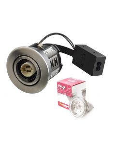 Hilux R7 LED Downlight 4,5W 230V 2700K Ra95 - Børstet Alu
