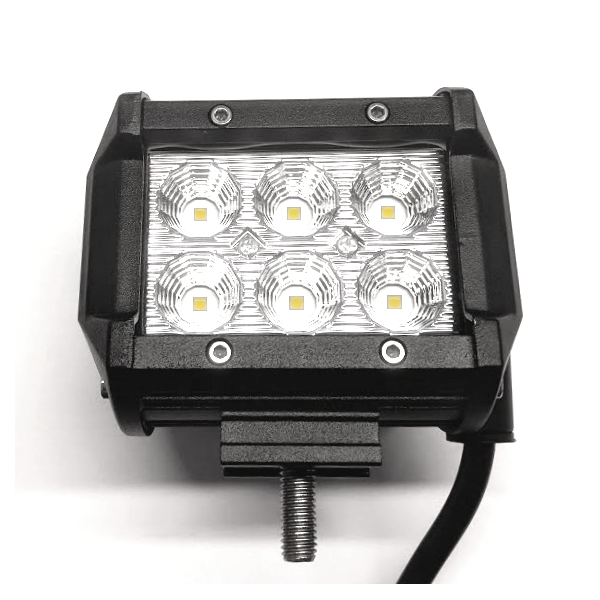Prof. Mini LED Flood Arbejdslampe 12V/24V IP67 18W 2400Lm 6000K
