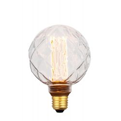 COLORS DIM LED FACET GLOBE E27 5W 1800K