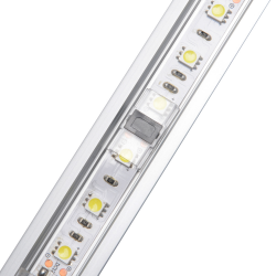 StripClip™ SLIM Samlestykke til 8mm IP20 Single Color LED Bånd - Til Alu Lister