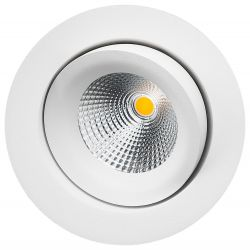 SG Junistar Lux Isosafe LED Downlight 7W 2700K Ra98 - Hvid